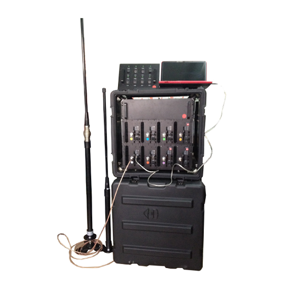 PCB-8028 Military/Police/Government/Convoy Jamming Portable RCIED Mobile Phone Pelican Jammer 130MHz -2700MHz, Max 510W, 8 Bands
