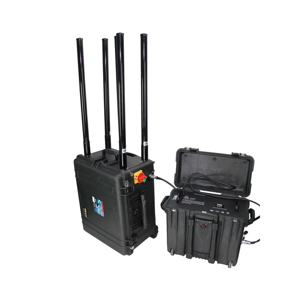 PCB-6068 Military/Police/Government/Convoy Jamming Portable RCIED Mobile Phone Pelican Jammer, Max 800W 8 Bands