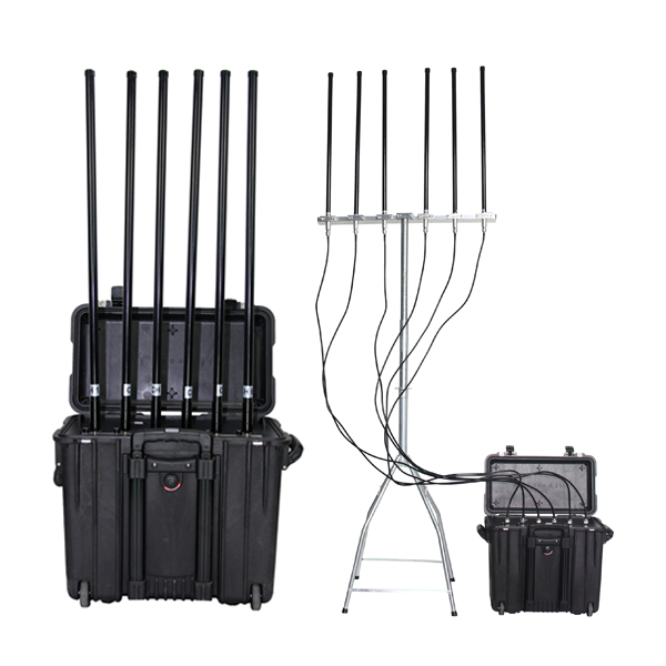Buy a mobile phone jammer | High Gain Antennas Cell Phone Wifi Blocker , 10 Watts Each Channel Mobile Signal Jammer