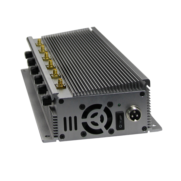 CPB-2660H Series Mobile Phone 2G 3G 4G WiFi Jammer 6 Bands 8-10W Per Band Adjustable Output Power