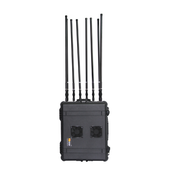 PCB-6068 Max 800W 8 Bands Military/Police/Government/Convoy Jamming Portable RCIED Mobile Phone Pelican Jammer